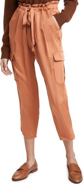 Satin Pocket Allyn Pants