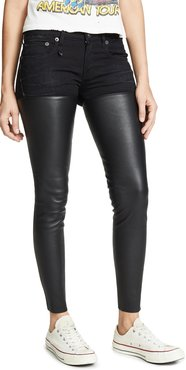 Leather Chaps Jeans