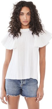 Bailey Broomstick Sleeveless Blouse