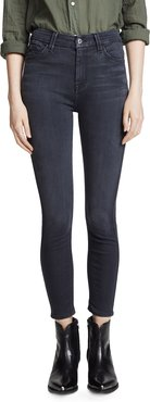 The B(air) High Waisted Ankle Skinny Jeans