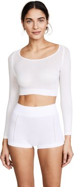 Arm Solid Shapewear Pullover