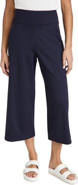 High Waist Relaxed Pocket Pull On Pants