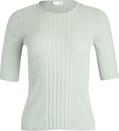 Cashmere Ribbed Pullover