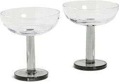 Puck Coupe Glass Set of 2