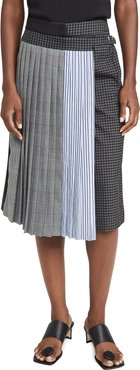 Pleated Wrap Culottes