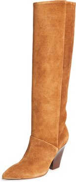 90mm Lila Knee Boots