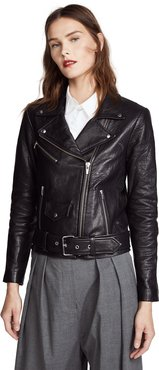Jayne Classic Leather Jacket