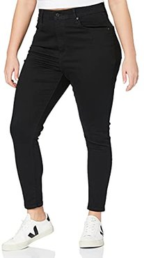 Plus Mile High SS Jeans, Black Galaxy, 14 S Donna