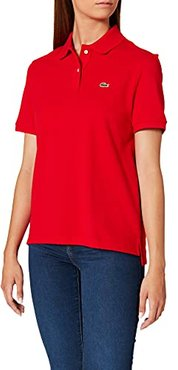 PF7839 T Shirt Polo, Rouge, 48 Donna