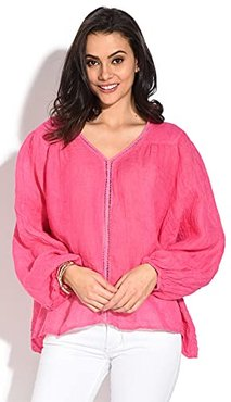 TRYSC100464 Blouse, Lampone, S Womens