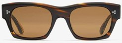 Isba (Cocobolo/Brown) Fashion Sunglasses