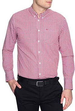 Merc of London JAPSTER, Shirt Maglietta, Rosso (Rouge (Blood), XS Uomo