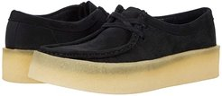 Wallabee Cup (Black Nubuck) Women's Shoes