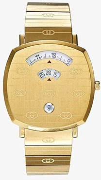 Gucci Grip (Gold Dial/Gold Bracelet) Watches