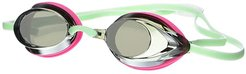 Wms Vanquisher 2.0 Mirrored Goggle (Pink/Green/Grey Mirrored) Water Goggles