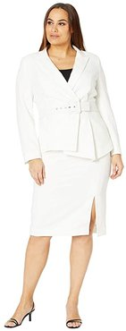 Nested Suit (Ivory) Women's Suits Sets