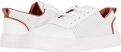 Milos Perforated Sneaker with Toe-Cap (Tomatoe) Women's Shoes
