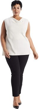 Plus Size Rowling Top - Soft Wave (Alabaster) Women's Clothing