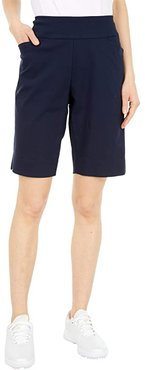Pull-On Shorts with Pockets (Navy) Women's Shorts