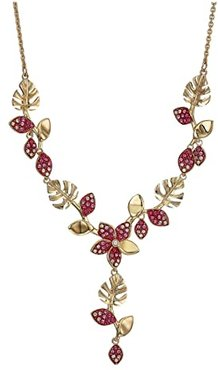 Tropical Flower Y-Necklace (Light Multi) Necklace