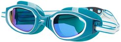 Hydro Comfort Mirrored (Ocean Depths/Cobalt/Green Blue Mirrored) Water Goggles