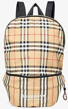 Rex Archive Stripe Backpack (Archive Beige) Backpack Bags