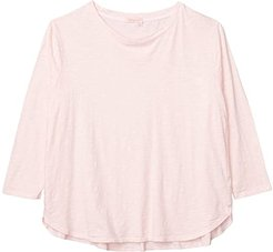 Plus Size Catalina Shirt (Blush) Women's Clothing
