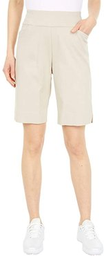 Pull-On Shorts with Pockets (Stone) Women's Shorts
