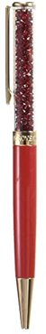 Crystalline Ballpoint Pen (Red) Athletic Sports Equipment