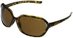 Swoon (Leopard Frame Brown Polarized Lens) Fashion Sunglasses