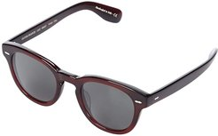 Cary Grant Sun (Bordeaux Bark) Fashion Sunglasses