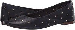 Martha Stewart Shelley (Navy Leather) Women's Shoes