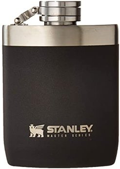 8 oz Master Unbreakable Hip Flask (Foundry Black) Glassware Cookware