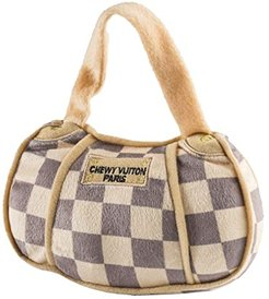 Checker Chewy Vuiton Bag - LG (Multi) Dog Toys