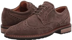 Vitrus I Wingtip Tie (Dark Clay) Men's Lace Up Wing Tip Shoes