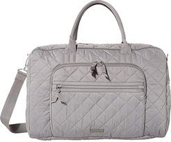 Performance Twill Lay Flat Weekend Bag (Tranquil Gray) Bags
