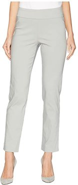 Pull-On Ankle Pants (Cement) Women's Dress Pants