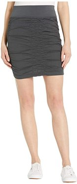 Wearables Solid Trace Skirt (Charcoal) Women's Skirt