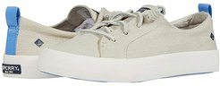 Crest Vibe Washed Twill (White) Women's Shoes