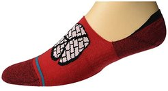 Rocksteady No Show (Red) Men's Crew Cut Socks Shoes