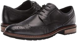Vitrus I Wingtip Tie (Moonless) Men's Lace Up Wing Tip Shoes