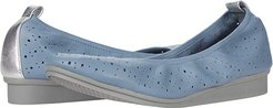 Wooster (Mid Blue Leather) Women's Shoes
