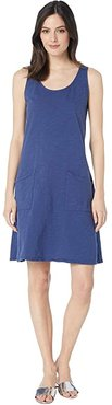 Drape Dress (Moonlight Blue) Women's Dress
