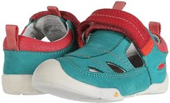 Pep Fisherman (Toddler) (Lake Green/Teaberry) Girl's Shoes