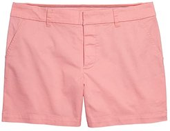 Hollywood 5 Stretch Shorts with Velcro Brand Closure and Magnetic Fly (Conch Shell) Women's Shorts