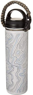 Topography 22 oz Insulated Steel Water Bottle (Light Grey) Individual Pieces Cookware