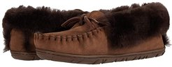 Wicked Good Moccasins (Chocolate Brown) Women's Shoes