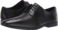 Bampton Cap (Black Leather) Men's Shoes