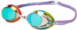 Vanquisher 2.0 Mirrored Goggle (Clear/Rainbow/Brights) Water Goggles
