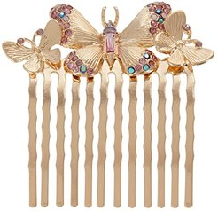 Butterfly Hair Comb (Purple) Hair Accessories